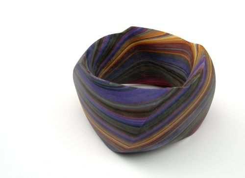 SusanneHolzingerArmreif violet bark