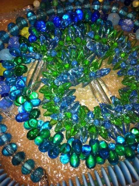 Glasketten von Inge Kern (Foto: Craftkontor)