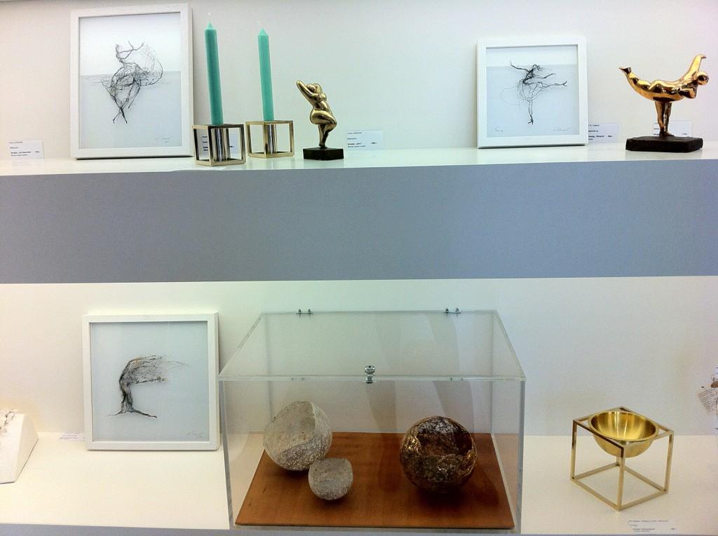 Ausstellungssituation Henriette Tomasi im CARFTkontor