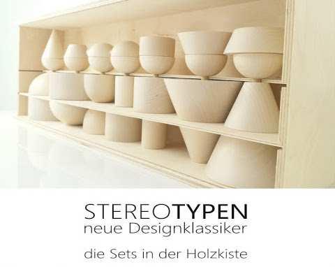 Jens Burkhardt, Stereotypen, Holzfigurinen zum Bauen;