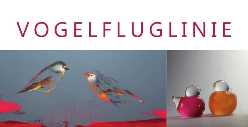 """Einladungskarte """"Vogelfluglinie"""" (Copyright: Rühmekorf/Portsteffen)"""
