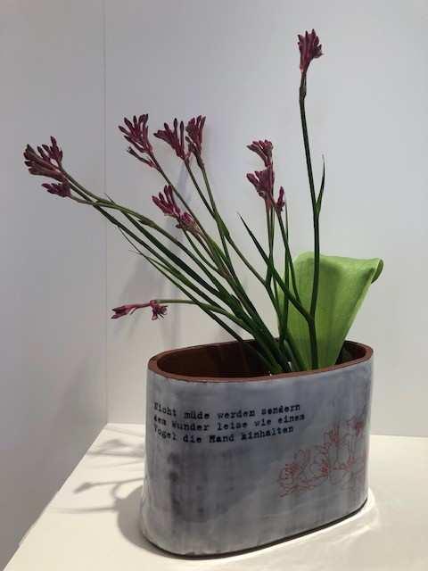 Barbara Reiter, Vase/Gefäß, Keramik; (Copyright +Foto: Reiter)