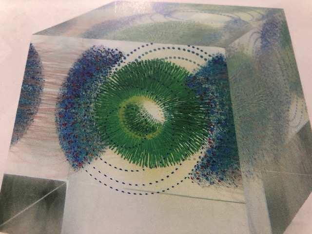 Wilfried grootens, W.T.S.B.B. , Kategorie Skulptur; Glas. Fotocopyright: Jennifer Braun